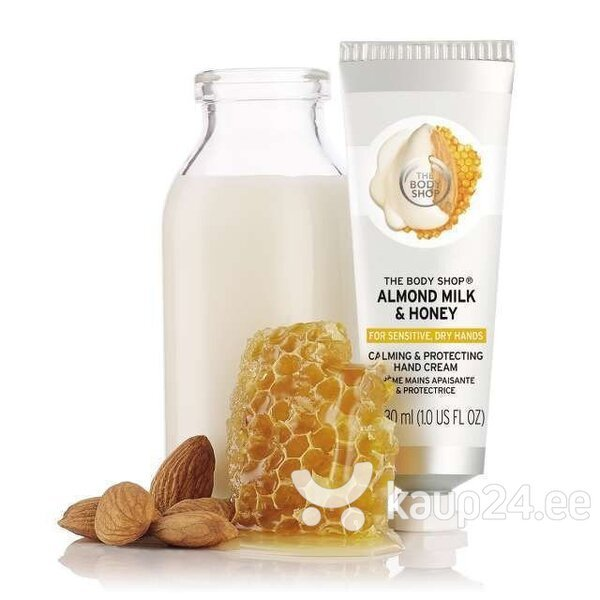 Kreem kuivadele kätele The Body Shop Almond Milk & Honey 30 ml hind