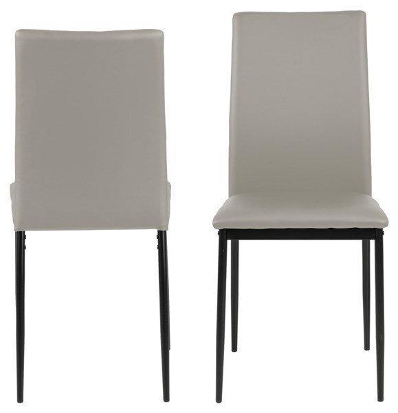Набор из 4-х стульев Actona Demina, светло-серый