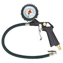 Пистолет для накачки колес с монометром TOPEX 75M301 цена и информация | Пистолет для накачки колес с монометром TOPEX 75M301 | kaup24.ee