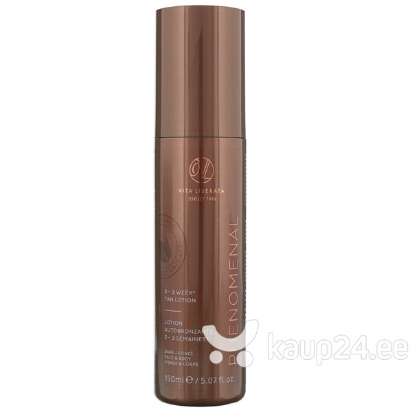 Kauapüsiv isepruunistav kreem Vita Liberata pHenomenal 2-3 Week Tan 150 ml, Dark