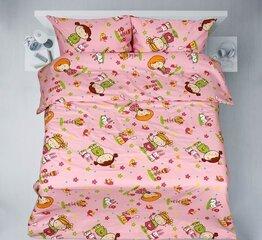 Laste voodipesukomplekt, 3-osaline, linane