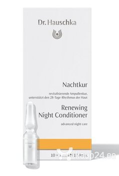 Noorendavad näo ampullid Dr. Hauschka Renewing Night Conditioner 10 x 1 ml