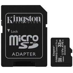 Kingston microSDHC 32GB Canvas Select Plus 100R A1 C10 + Adapter