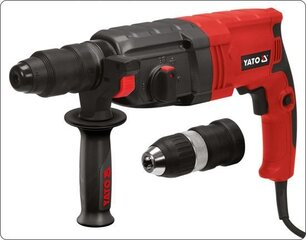 Perforaator Yato SDS Plus 850W 3J (YT-82122) hind ja info | Lööktrellid | kaup24.ee