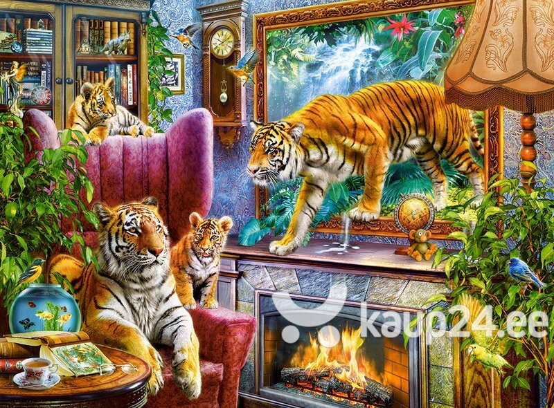 """Pusle Castorland """"Tigers Comming to Life"""", 3000-osaline"""