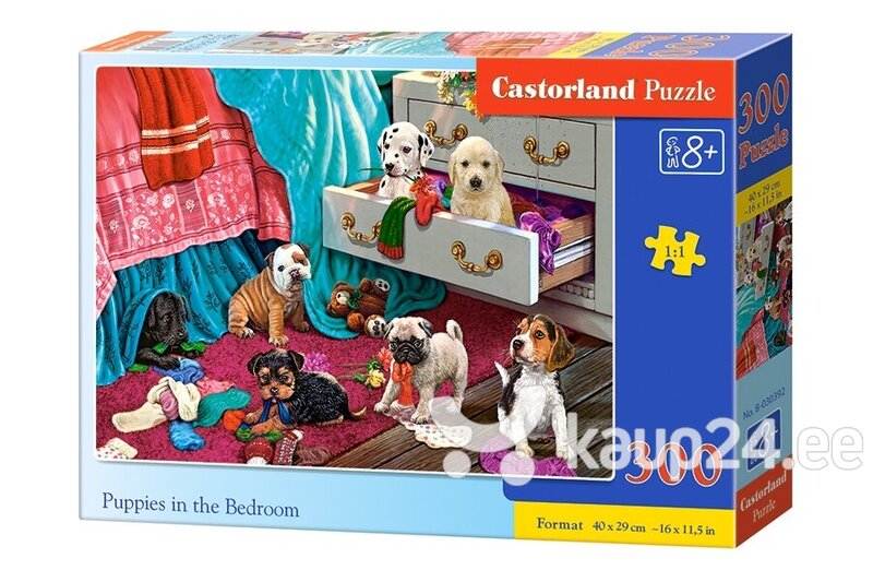 Pusle Castorland Puppies in the Bedroom, 300-osaline цена