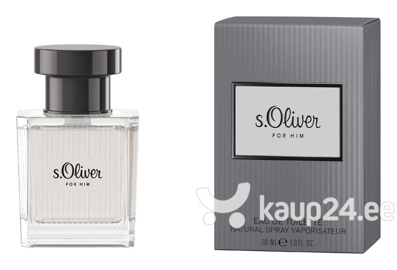 Tualettvesi s.Oliver For Him EDT meestele 30 ml