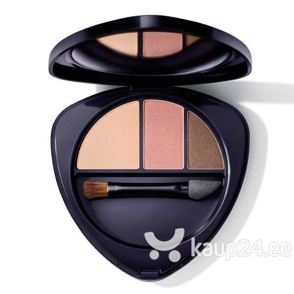 Тени для век Dr. Hauschka Eyeshadow Trio 04 Sunstone