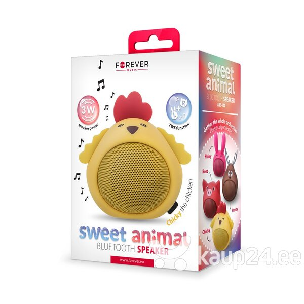 Bluetooth Speaker Forever Sweet Animal Chicken Chicky ABS-100 цена