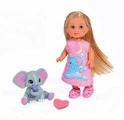 Nukk koos elevandiga Simba Evi Love hind ja info | Tüdrukute mänguasjad | kaup24.ee