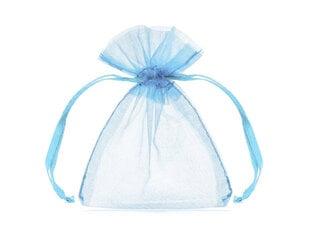 Kinkekott, sinine, 10cm (1 pakk / 20 tk) hind ja info | Kingituste pakendid | kaup24.ee