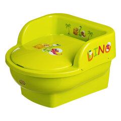 Pissipott Maltex Baby, DINO, salatiroheline, 6401 hind ja info | Pissipotid | kaup24.ee