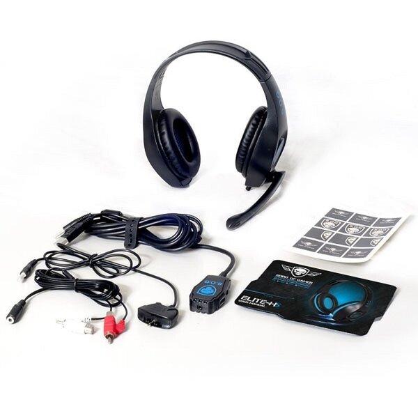 Peakomplekt Spirit Of Gamer Multi Platform Series Over Ear Headset Elite-H5, Sinine Internetist