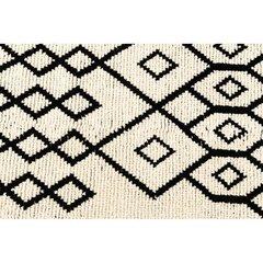Villane põrandakate FANNI K (vaip) RAANU 140X200CM valge/must