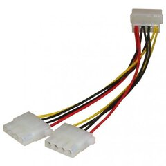 Juhe RoGer Molex 4 Pin to 2 x Molex 4 Pin