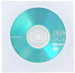 Sony Blank DVD+R 4,7GB 16x Extra protection CD, 1 tk