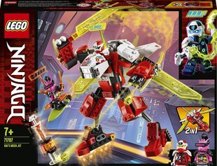 71707 LEGO® NINJAGO® Kais mehaaniline robotlennuk hind ja info | 71707 LEGO® NINJAGO® Kais mehaaniline robotlennuk | kaup24.ee