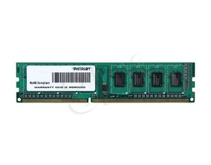 PATRIOT MEMORY DIMM 8GB PC12800 DDR3/PSD38G16002