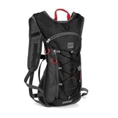 Jalgrattaga sõitmise, jooksmise seljakott Spokey Fuji, 3l, must