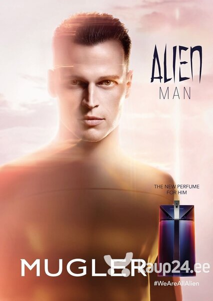 Набор Thierry Mugler Alien Man для мужчин: EDT 100 мл + шампунь (гель для душа) 50 мл