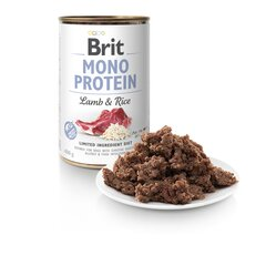 BRIT CARE Mono Protein Lamb Rice konserv 400 g hind ja info | BRIT CARE Mono Protein Lamb Rice konserv 400 g | kaup24.ee