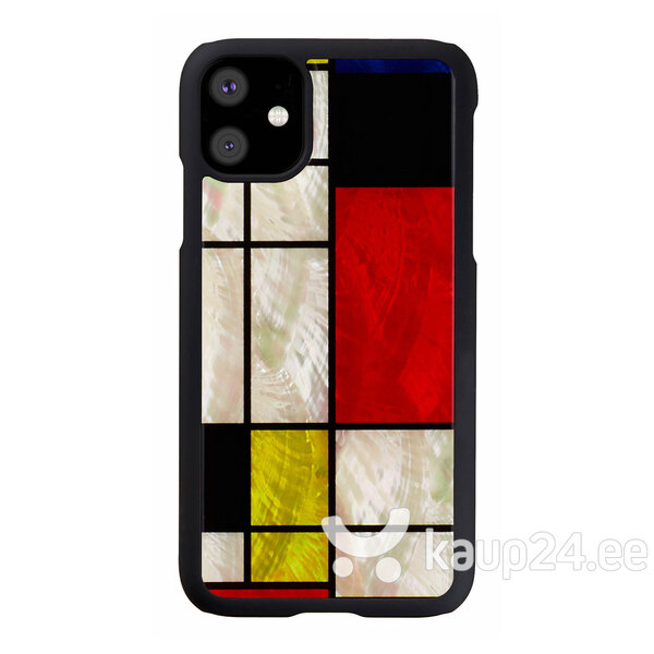 iKins ümbris Apple iPhone 11, Mondrian, Must