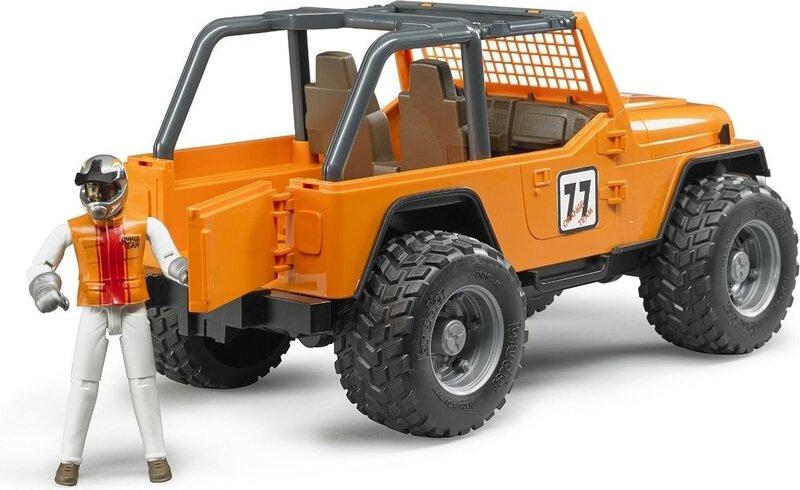 Maastur koos võidusõitjaga Jeep Bruder, BR-02542 цена