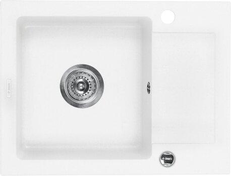 Graniidist köögivalamu Deante Zorba ZQZ A11A, alabaster hind ja info | Köögivalamud | kaup24.ee