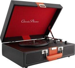 Lenco TT33 BLACK hind ja info | Vinüülplaadimängijad ja grammofonid | kaup24.ee