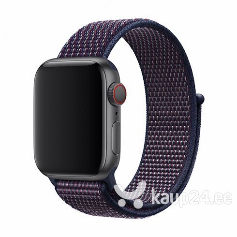Devia Deluxe Series Sport3 Band sobib Apple Watch(40mm), sinine (indigo)
