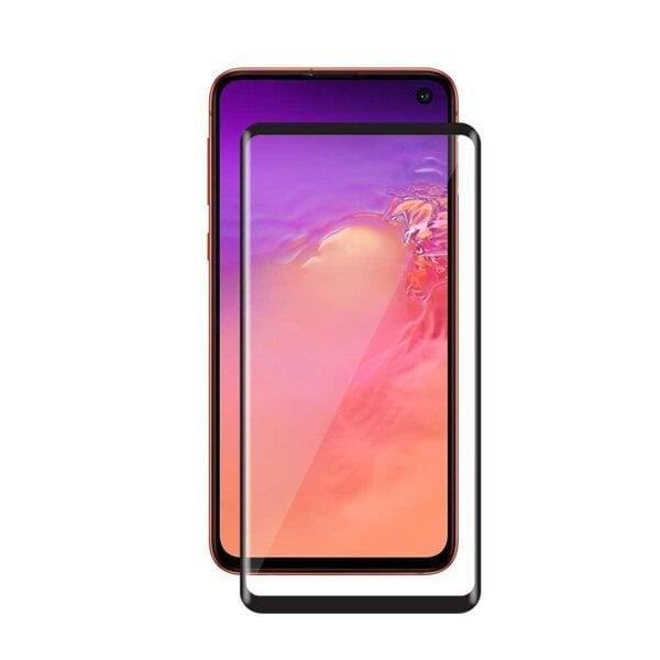 Kaitseklaas Devia Real Series 3D Curved Full Screen telefonile Samung S10 hind ja info | Ekraani kaitsekiled | kaup24.ee
