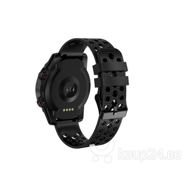 Nutikell Bemi SCOUT Smart Watch & Fit GPS Tracker, Must hind