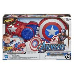 Mänguasi poistele Nerf Avengers Captain America hind ja info | Poiste mänguasjad | kaup24.ee