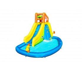 Täispuhutav bassein liumäega Bestway H2OGO! 4.35 m x 2.86 m x 2.67 m hind ja info | Täispuhutav bassein liumäega Bestway H2OGO! 4.35 m x 2.86 m x 2.67 m | kaup24.ee