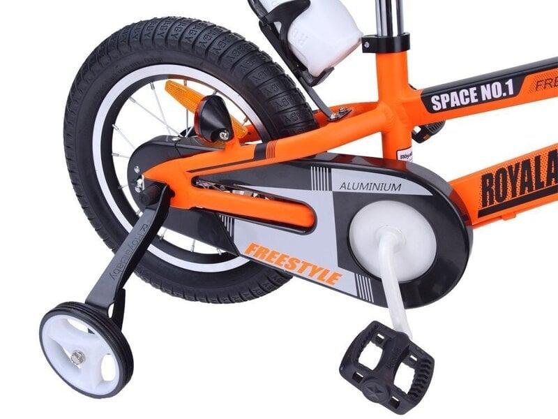 """Laste jalgratas ROYALBABY Space 16"""" Oranž"""