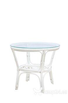 Punutud laud NORE Bahama, valge hind ja info | Aialauad | kaup24.ee