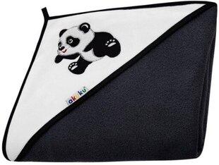 Vannirätik kapuutsiga AKUKU, 100x100 cm, Panda hind ja info | Vannirätik kapuutsiga AKUKU, 100x100 cm, Panda | kaup24.ee