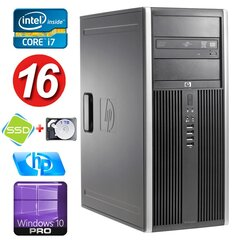 HP 8100 Elite MT i7-860 16GB 120SSD+1TB NVS450 DVD WIN10Pro hind ja info | HP 8100 Elite MT i7-860 16GB 120SSD+1TB NVS450 DVD WIN10Pro | kaup24.ee