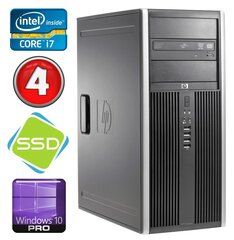 HP 8100 Elite MT i7-860 4GB 120SSD NVS450 DVD WIN10Pro hind ja info | HP 8100 Elite MT i7-860 4GB 120SSD NVS450 DVD WIN10Pro | kaup24.ee