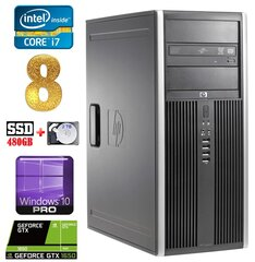 HP 8100 Elite MT i7-860 8GB 480SSD+2TB GTX1650 4GB DVD WIN10Pro hind ja info | HP 8100 Elite MT i7-860 8GB 480SSD+2TB GTX1650 4GB DVD WIN10Pro | kaup24.ee