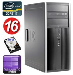 HP 8100 Elite MT i7-860 16GB 500GB NVS450 DVD WIN10Pro hind ja info | HP 8100 Elite MT i7-860 16GB 500GB NVS450 DVD WIN10Pro | kaup24.ee