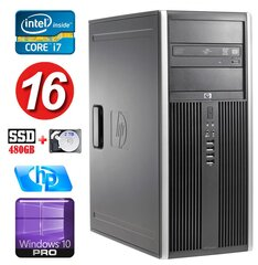 HP 8100 Elite MT i7-860 16GB 480SSD+2TB NVS450 DVD WIN10Pro hind ja info | HP 8100 Elite MT i7-860 16GB 480SSD+2TB NVS450 DVD WIN10Pro | kaup24.ee