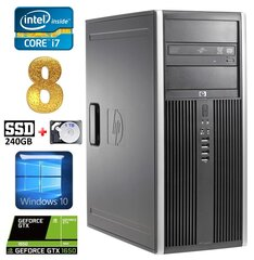 HP 8100 Elite MT i7-860 8GB 240SSD+1TB GTX1650 4GB DVD WIN10 hind ja info | HP 8100 Elite MT i7-860 8GB 240SSD+1TB GTX1650 4GB DVD WIN10 | kaup24.ee