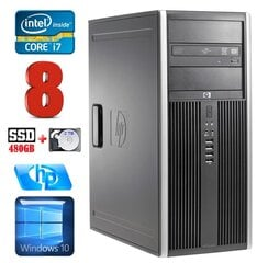 HP 8100 Elite MT i7-860 8GB 480SSD+2TB NVS450 DVD WIN10 hind ja info | HP 8100 Elite MT i7-860 8GB 480SSD+2TB NVS450 DVD WIN10 | kaup24.ee