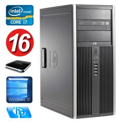 HP 8100 Elite MT i7-860 16GB 1TB NVS450 DVD WIN10 hind ja info | HP 8100 Elite MT i7-860 16GB 1TB NVS450 DVD WIN10 | kaup24.ee