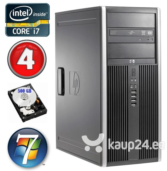 HP 8100 Elite MT i7-860 4GB 500GB NVS450 DVD WIN7Pro