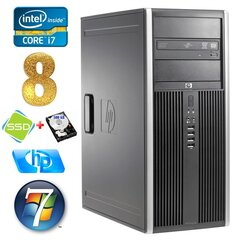 HP 8100 Elite MT i7-860 8GB 120SSD+500GB NVS450 DVD WIN7Pro hind ja info | HP 8100 Elite MT i7-860 8GB 120SSD+500GB NVS450 DVD WIN7Pro | kaup24.ee