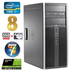 HP 8100 Elite MT i7-860 8GB 480SSD+1TB GTX1650 4GB DVD WIN7Pro hind ja info | HP 8100 Elite MT i7-860 8GB 480SSD+1TB GTX1650 4GB DVD WIN7Pro | kaup24.ee