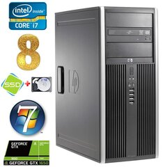 HP 8100 Elite MT i7-860 8GB 120SSD+2TB GTX1650 4GB DVD WIN7Pro hind ja info | HP 8100 Elite MT i7-860 8GB 120SSD+2TB GTX1650 4GB DVD WIN7Pro | kaup24.ee