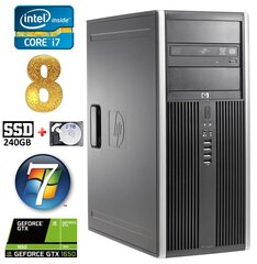 HP 8100 Elite MT i7-860 8GB 240SSD+2TB GTX1650 4GB DVD WIN7Pro hind ja info | HP 8100 Elite MT i7-860 8GB 240SSD+2TB GTX1650 4GB DVD WIN7Pro | kaup24.ee